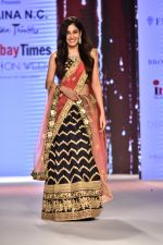 Pooja Chopra Showstopper For Designer Shaina N.C At Bombay Times Fashion Week on 30th March 2018 (55)_5abf42676115b.JPG