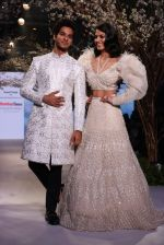 Ishan Khattar, Malavika Mohanan Showstopper For Designer Falguni and Shane Peacock At Bombay Times Fashion Week on 1st April 2018