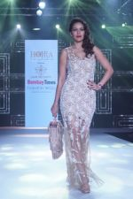 Waluscha de Sousa Showstopper For Designer Asif Merchant (Horra) At Bombay Times Fashion Week on 1st April 2018 (3)_5ac24652a74bd.JPG