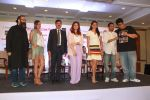 Twinkle Khanna, Gul Panag at the press conference of Outlook Social Media Awards in Taj Lands End in mumbai on 9th April 2018