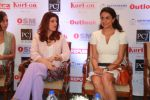 Twinkle Khanna, Gul Panag at the press conference of Outlook Social Media Awards in Taj Lands End in mumbai on 9th April 2018 (5)_5acc5a55b13bf.JPG