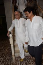 Gulzar at the Prayer Meet Of Smt. Satya Bhardwaj(Mother Of Vishal Bhardwaj) on 11th April 2018