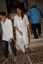 Huma Qureshi at the Prayer Meet Of Smt. Satya Bhardwaj(Mother Of Vishal Bhardwaj) on 11th April 2018