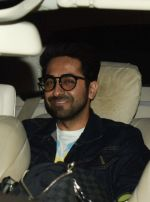 Ayushmann Khurrana at the Screening Of Movie October in Yash Raj on 12th April 2018