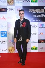 Karan Johar at Dadasaheb Phalke Awards at St Andrews bandra , mumbai on 22nd April 2018