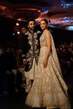 Ranbir Kapoor, Deepika Padukone walk the ramp at Manish Malhotra_s Mijwan show in mumbai on 19th April 2018 (19)_5ae043c1601d3.JPG