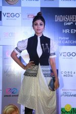 Shilpa Shetty at Dadasaheb Phalke Awards at St Andrews bandra , mumbai on 22nd April 2018 (11)_5ae04f34649db.JPG