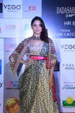 Tamannaah Bhatia at Dadasaheb Phalke Awards at St Andrews bandra , mumbai on 22nd April 2018