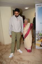 Abhishek Bachchan, Aishwarya Rai Bachchan at the Screening of 102 NotOut in Sunny Super sound, juhu on 1st May 2018 (22)_5ae955ab4cbca.JPG