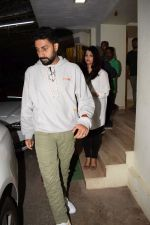 Abhishek Bachchan, Aishwarya Rai Bachchan at the Screening of 102 NotOut in Sunny Super sound, juhu on 1st May 2018 (29)_5ae955b2421e2.JPG