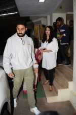 Abhishek Bachchan, Aishwarya Rai Bachchan at the Screening of 102 NotOut in Sunny Super sound, juhu on 1st May 2018 (35)_5ae955b8613db.JPG