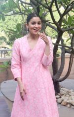 Alia Bhatt at Raazi media interactions in novotel juhu on 6th May 2018