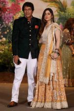 Chunky Pandey at Sonam Kapoor and Anand Ahuja's Wedding Reception on 8th May 2018