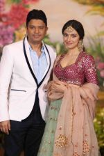 Divya Khosla Kumar, Bhushan Kumar  at Sonam Kapoor and Anand Ahuja_s Wedding Reception on 8th May 2018 (243)_5af42332c6efc.JPG