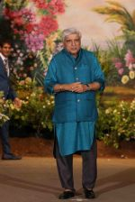 Javed Akhtar at Sonam Kapoor and Anand Ahuja's Wedding Reception on 8th May 2018