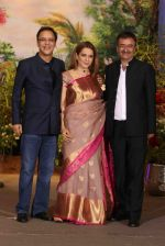 Kangana Ranaut, Vidhu Vinod Chopra, Rajkumar Hirani at Sonam Kapoor and Anand Ahuja_s Wedding Reception on 8th May 2018 (95)_5af43fb03e8cf.JPG