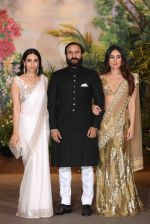 Karisma Kapoor, Saif Ali KHan, Kareena Kapoor at Sonam Kapoor and Anand Ahuja_s Wedding Reception on 8th May 2018 (267)_5af4401d358ff.JPG