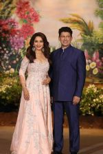 Madhuri Dixit, Sriram Nene at Sonam Kapoor and Anand Ahuja_s Wedding Reception on 8th May 2018 (277)_5af441041b00b.JPG