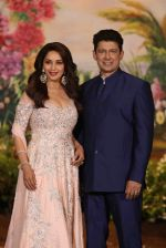 Madhuri Dixit, Sriram Nene at Sonam Kapoor and Anand Ahuja_s Wedding Reception on 8th May 2018 (278)_5af44105c8502.JPG
