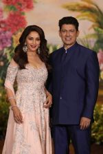 Madhuri Dixit, Sriram Nene at Sonam Kapoor and Anand Ahuja_s Wedding Reception on 8th May 2018 (279)_5af440f53cd91.JPG