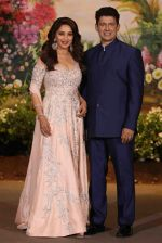 Madhuri Dixit, Sriram Nene at Sonam Kapoor and Anand Ahuja_s Wedding Reception on 8th May 2018 (280)_5af44107b0808.JPG