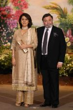 Neetu Singh, Rishi Kapoor at Sonam Kapoor and Anand Ahuja_s Wedding Reception on 8th May 2018 (145)_5af441e519404.JPG