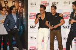 Anil Kapoor, Salman Khan, Bobby Deol at Race3 trailer launch at pvr juhu on 15th May 2018