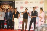 Salman Khan, Anil Kapoor, Bobby Deol, Jacqueline Fernandez, Daisy Shah, Saqib Saleem at Race3 trailer launch at pvr juhu on 15th May 2018