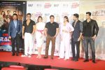 Salman Khan, Anil Kapoor, Bobby Deol, Jacqueline Fernandez, Daisy Shah, Saqib Saleem, Freddy Daruwala at Race3 trailer launch at pvr juhu on 15th May 2018