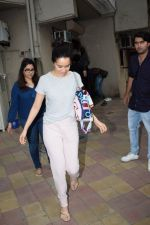Shraddha Kapoor spotted at a dubbing studio in juhu on 17th May 2018 (2)_5afecf2f0d638.JPG