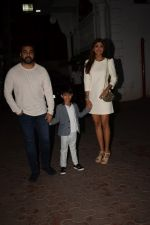 Shilpa Shetty, Raj Kundra & Viaan snapped as they go out for dinner on Viaan_s birthday at juhu on 20th May 2018(17)_5b053e4e09540.JPG