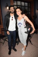 Harshvardhan Kapoor with Taapsee Pannu Riding Bike for the promotion of movie Bhavesh Joshi on 27th May 2018 (24)_5b0d192364b5c.JPG
