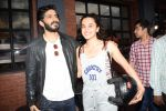 Harshvardhan Kapoor with Taapsee Pannu Riding Bike for the promotion of movie Bhavesh Joshi on 27th May 2018 (35)_5b0d195e70117.JPG