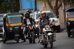 Harshvardhan Kapoor with Taapsee Pannu Riding Bike for the promotion of movie Bhavesh Joshi on 27th May 2018 (4)_5b0d190144ff9.JPG