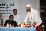 Manoj Bajpayee, Wajid Ali, Anees Bazmee, Javed Jaffrey at Oshiwara police head Subhash khanvilkar_s iftar party on 30th May 2018 (5)_5b0fba879b4f2.JPG