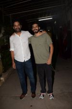 Harshvardhan Kapoor, Vikramaditya Motwane at the screening of Bhavesh Joshi Superhero in sunny super sound on 31st May 2018 (1)_5b1120aea25e5.JPG