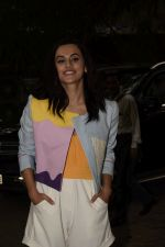 Taapsee Pannu at the Screening of film Nitishastra in sunny sound on 4th June 2018 (10)_5b1637c28e42b.JPG