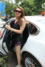 Hansika Motwani Spotted At Bandra on 5th June 2018