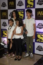Mini Mathur at the Screening of Jurassic world in PVR icon Andheri on 6th June 2018 (15)_5b18db27a6c51.JPG