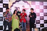 Janhvi Kapoor, Ishaan Khattar, Karan Johar at the Trailer launch of film Dhadak at pvr juhu on 11th June 2018 (99)_5b1f6b54896b7.JPG