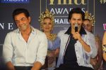 Bobby Deol, Varun Dhawan at IIFA press conference in jw marriott juhu on 12th June 2018