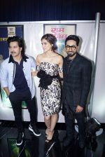 Varun Dhawan, Ayushmann Khurrana, Kriti Sanonat IIFA press conference in jw marriott juhu on 12th June 2018