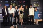 Varun Dhawan, Kriti Sanon, Ayushmann Khurrana, Bobby Deol at IIFA press conference in jw marriott juhu on 12th June 2018