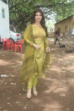 Ayesha Takia shoots for an Ad campaign at goregaon on 13th June 2018 (5)_5b21ffe128802.JPG