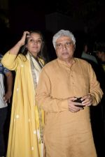 Shabana Azmi, Javed Akhtar at the Screening of Lust stories in bandra on 13th June 2018 (13)_5b220d0e050d7.JPG