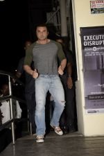 Sohail Khan at the Screening of Race 3 in pvr juhu on 14th June 2018