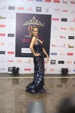 Poonam Pandey at Femina Miss India grand finale in NSCI worli, Mumbai on 19th June 2018