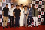 John Abraham, Manoj Bajpayee, Amruta Khanvilkar, Aisha Sharma, Bhushan Kumar, Nikkhil Advani, Milap Milan Zaveri at the Trailer Launch Of flim Satyameva Jayate on 27th June 2018 (61)_5b34ea98516d9.JPG