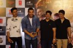 John Abraham, Manoj Bajpayee, Bhushan Kumar, Milap Milan Zaveri at the Trailer Launch Of flim Satyameva Jayate on 27th June 2018 (11)_5b34eac0c3569.JPG