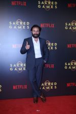 Saif Ali Khan at the Screening of Netflix Sacred Games in pvr icon Andheri on 28th June 2018